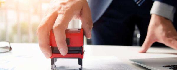 Dématérialiser le cachet d'entreprise